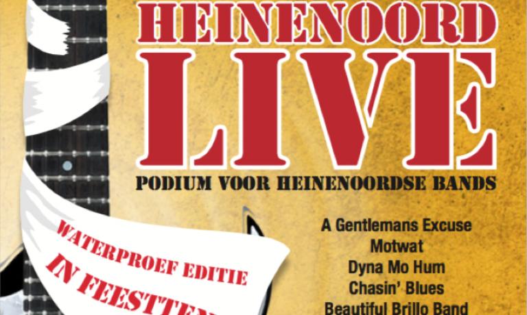 Line-up Heinenoord live